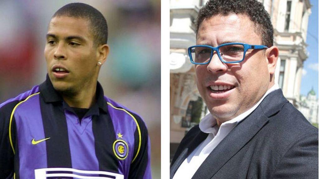 Ronaldo, irreconocible con unos kilos de más