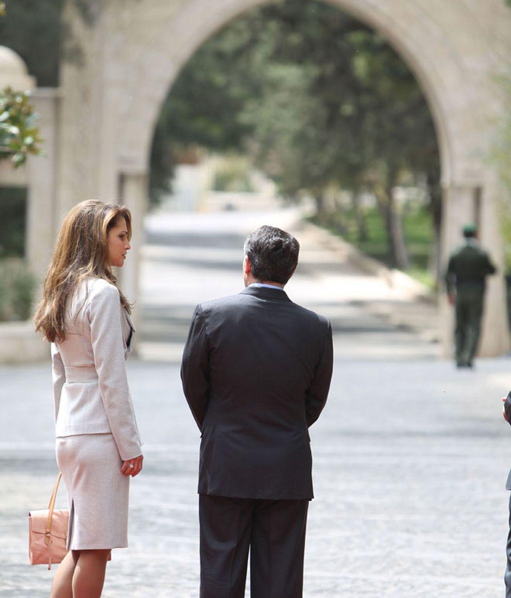 Las fotos del encuentro de Letizia Ortiz y Rania de Jordania