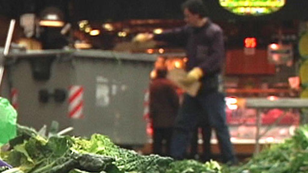 Verduras en la calle