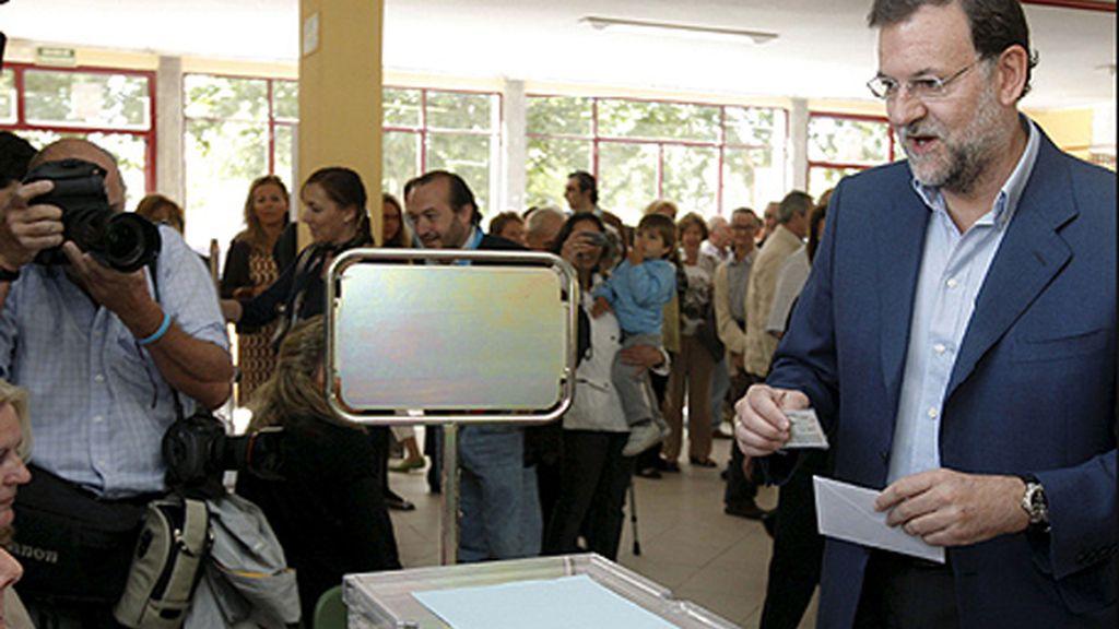 Mariano Rajoy pide un voto de castigo