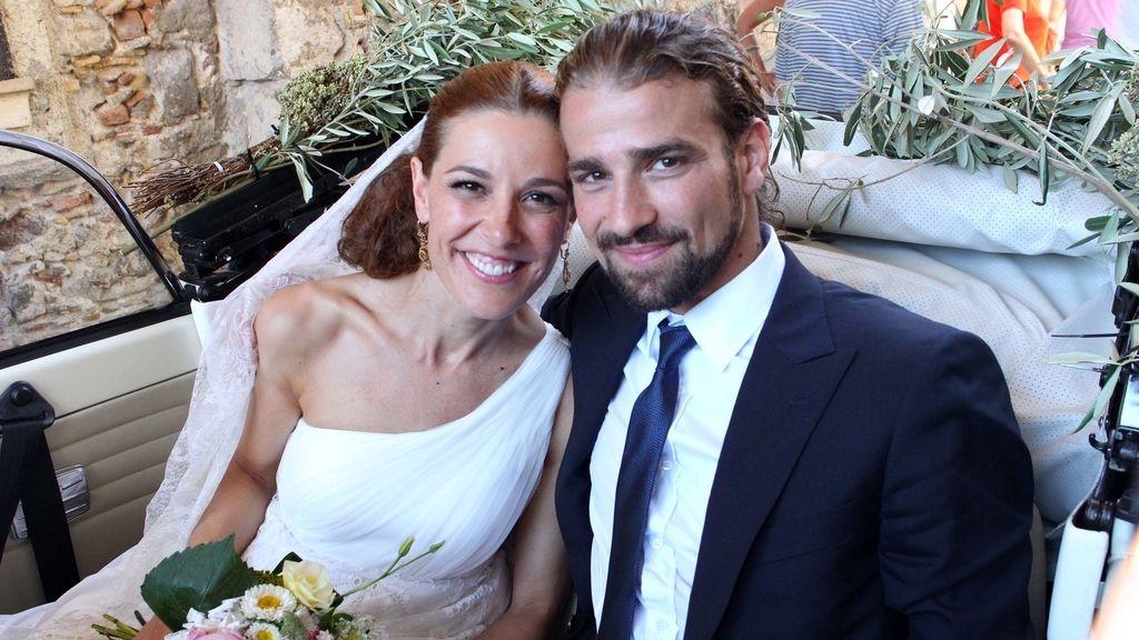 Raquel Sánchez Silva y su marido Mario Biondo. Foto: GTRES