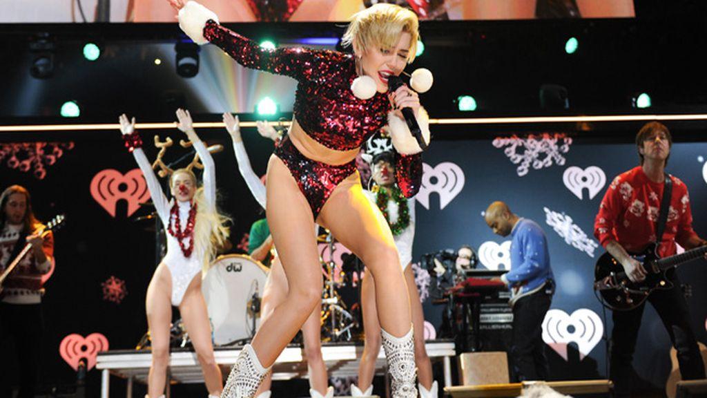 En la actuación 'Jingle Ball 2013' en Nueva York