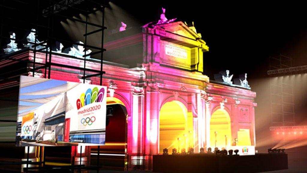 Puerta de Alcalá, Madrid 2020