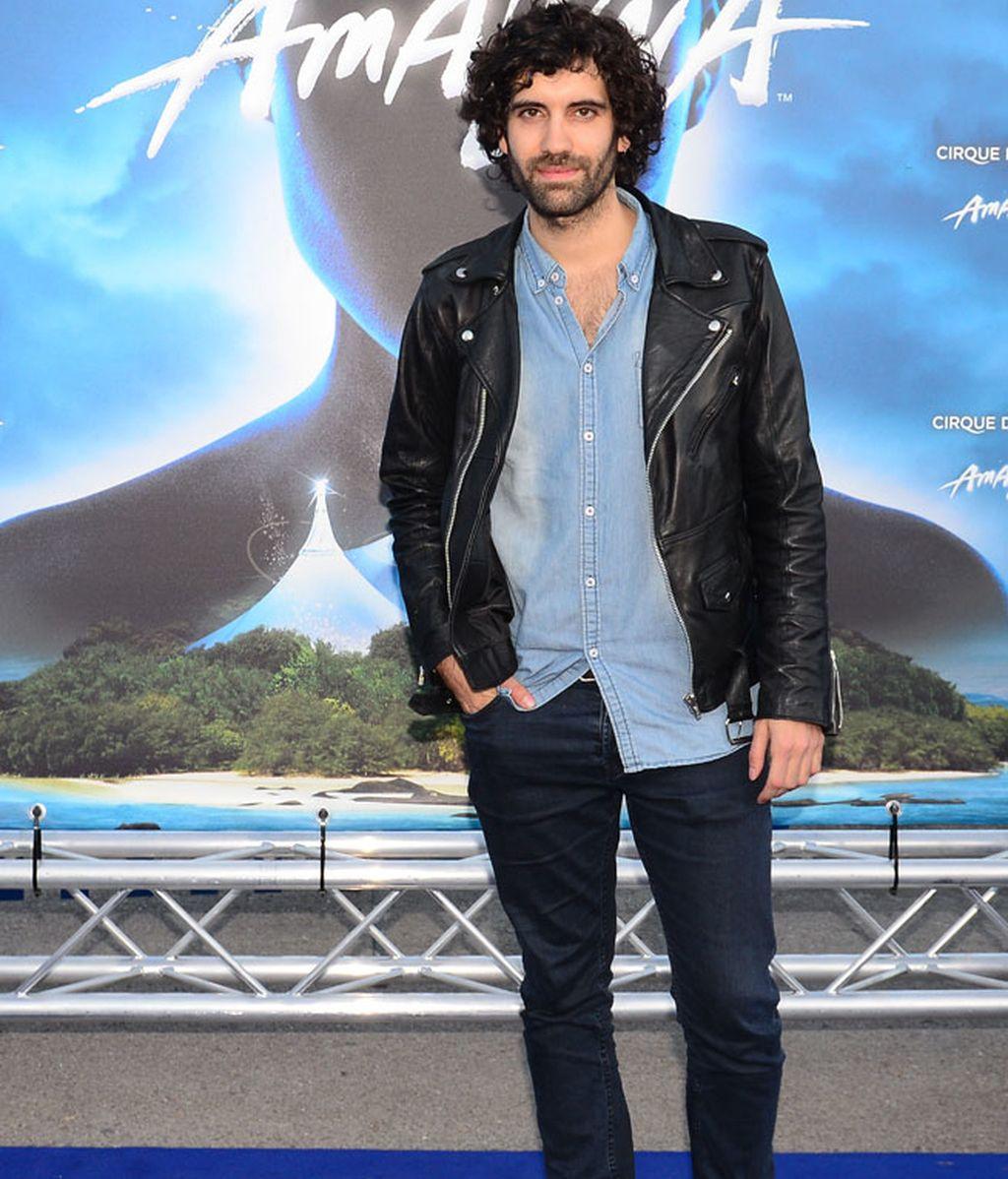 El actor Tamar Novas en la presentación del nuevo espectáculo del Circo del Sol