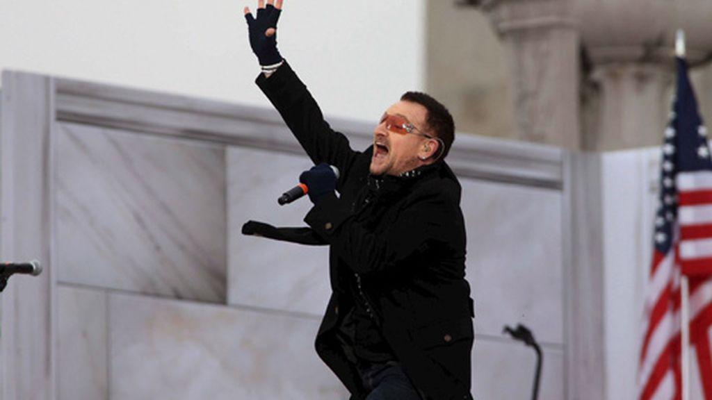 Bono, con Barack Obama