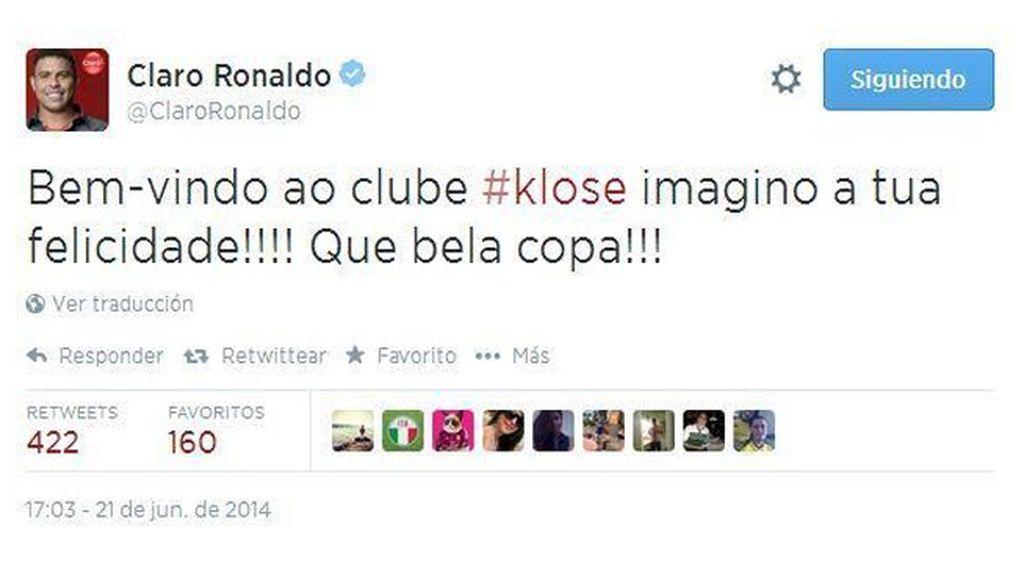 ronaldo twitter