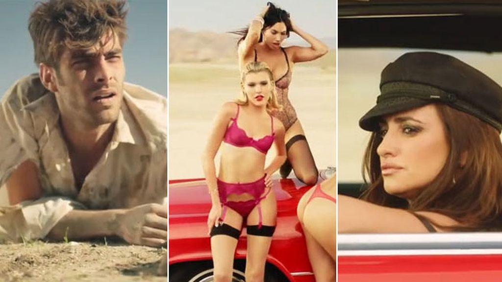 La actriz vuelve a dirigir un corto dedicado a la marca 'L'Agent provocateur'