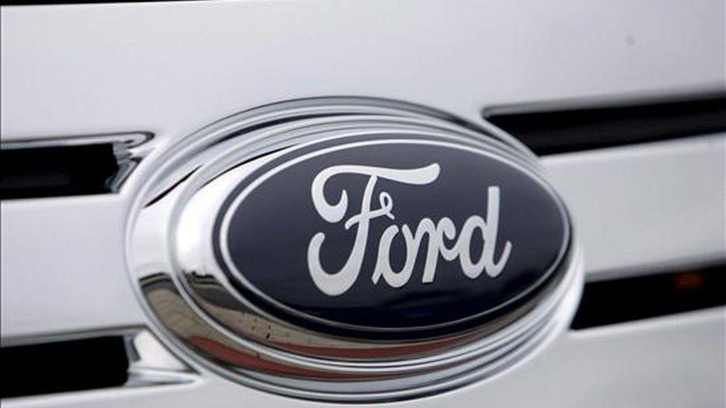 Ford, la única de las tres grandes automovilísticas estadounidenses que no está en quiebra, aumentó sus ventas en abril en EE.UU. EFE/Archivo