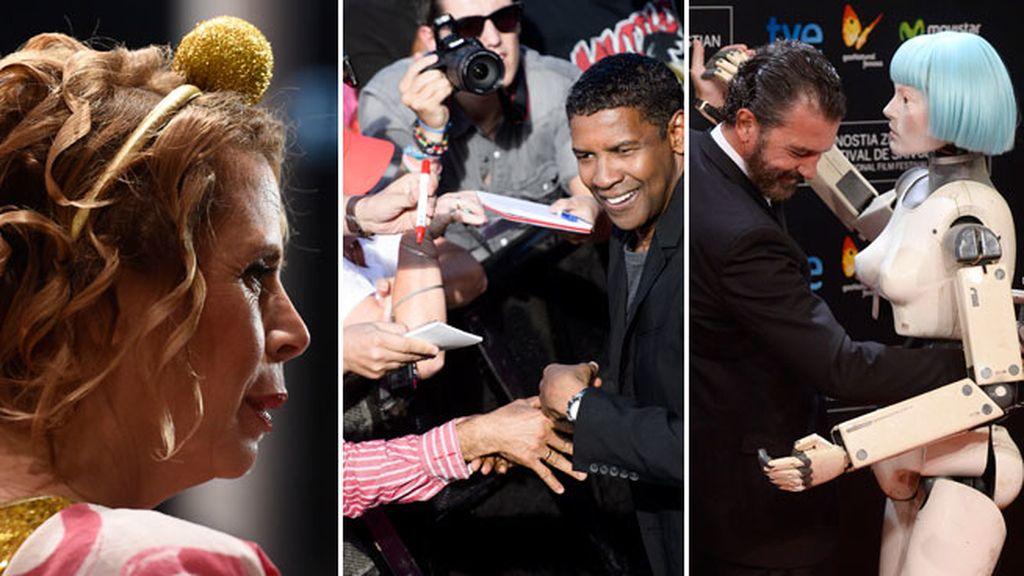 El momento fan de Denzel Washington, el momento diadema de Ágata Ruiz de la Prada...