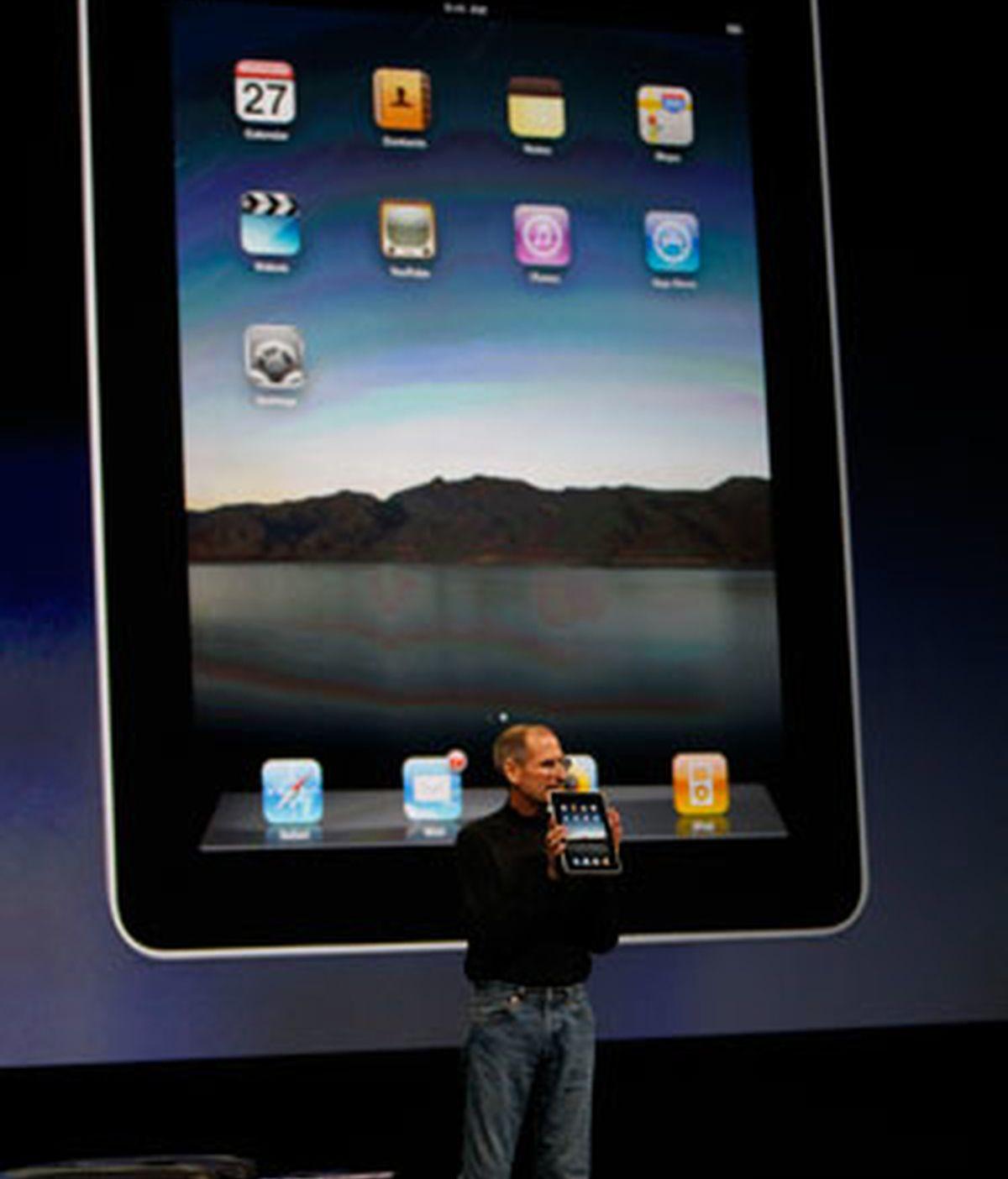 Steve Jobs ha llevado a cabo la presentación del iPad. Video: ATLAS.