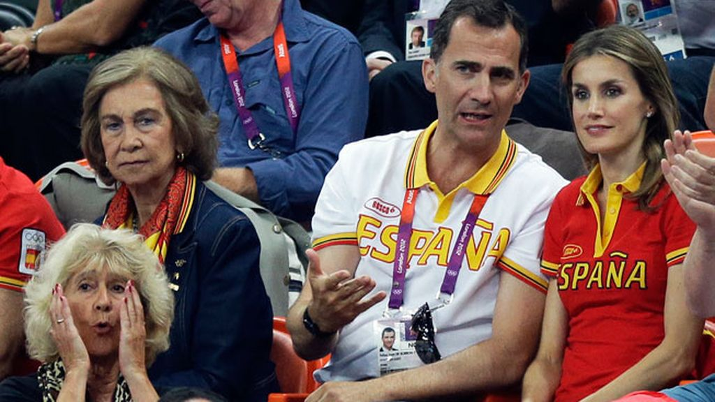 Los príncipes apoyan el deporte español
