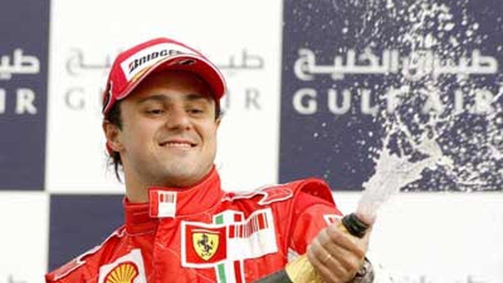 Massa, el número uno de Bahrein