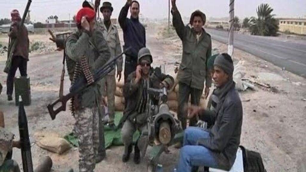 Advertencia a Gadafi