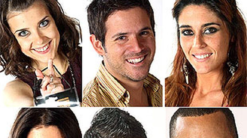 Los seis finalistas de OT 2008