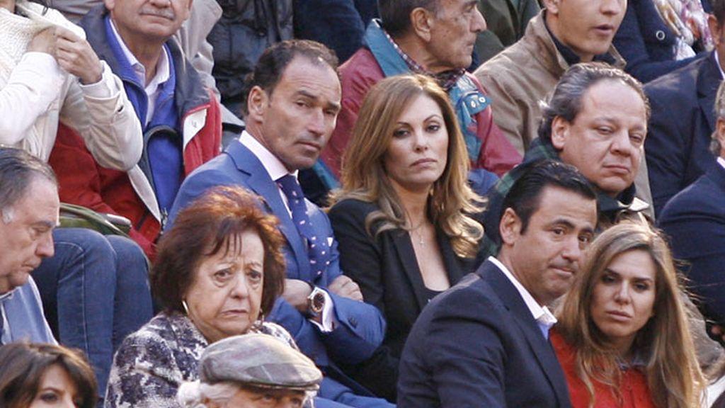 Pepín Liria con Raquel Rodríguez