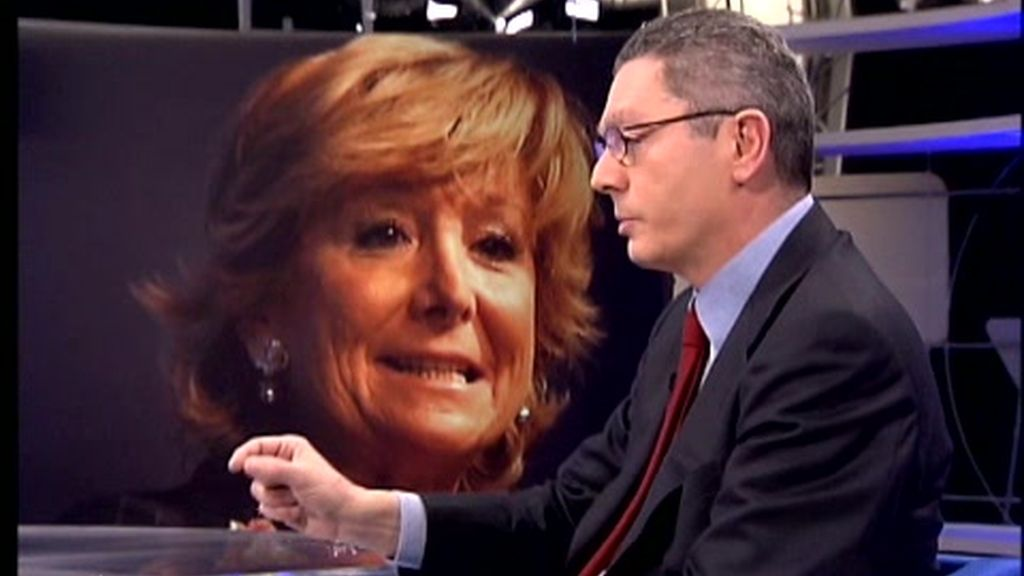 Gallardón elude contestar si se fía de Esperanza Aguirre