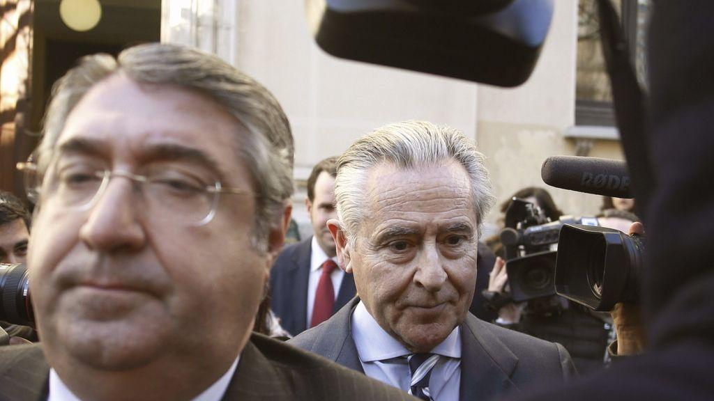 Miguel Blesa, a la salida de los juzgados