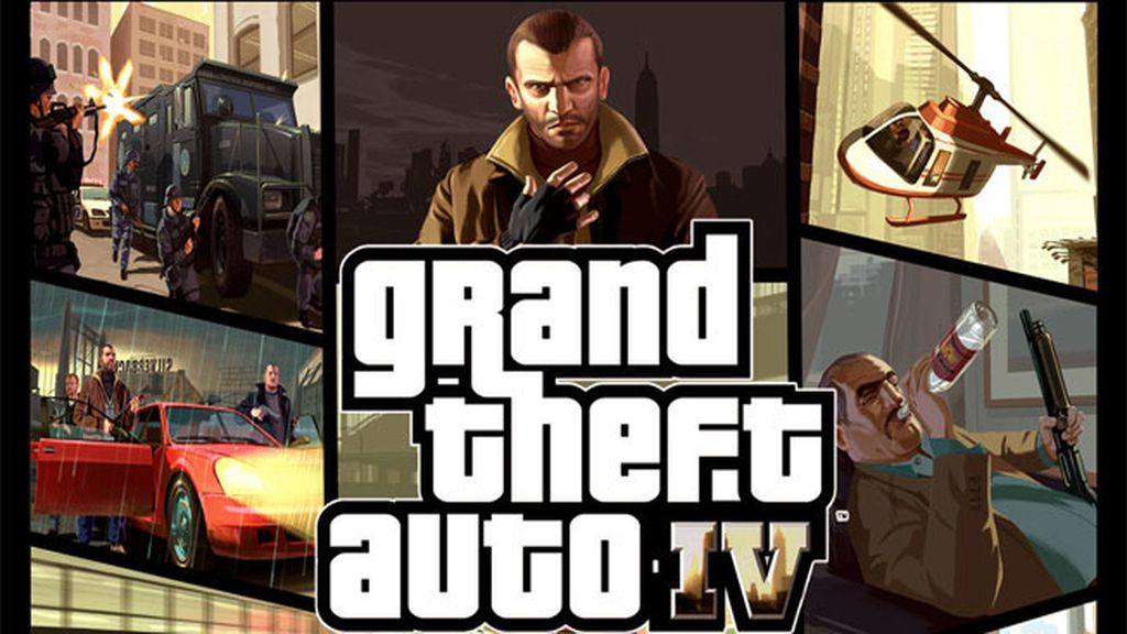 Vídeojuego Grand Theft Auto IV