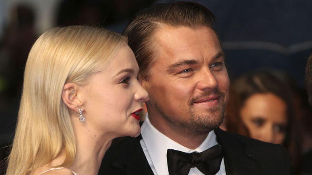 Los actores Leonardo DiCaprio y Carey Mulligan