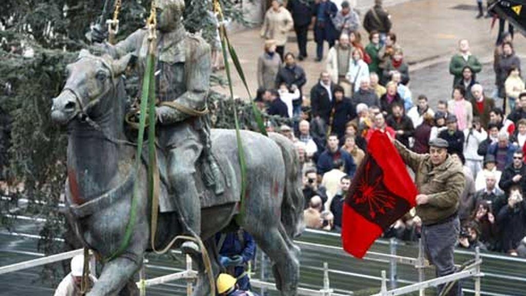 Santander se despide de Franco