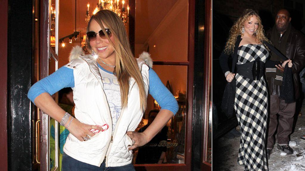 Mariah Carey y Nick Cannon vuelven a Aspen por Navidad, como el turrón