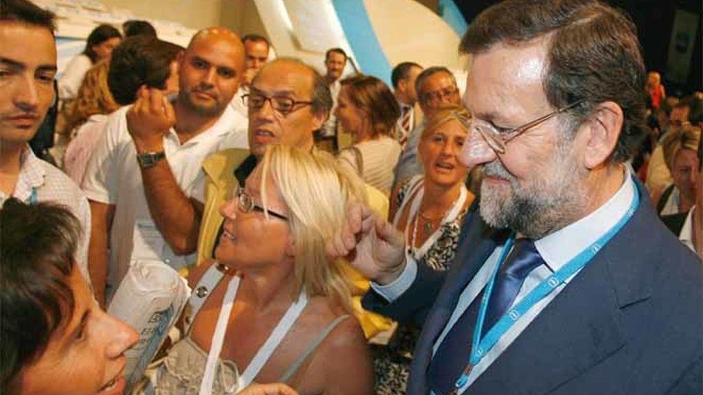 Rajoy en un mitin