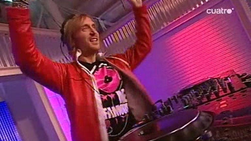 David Guetta pincha en la Escuela de Fama