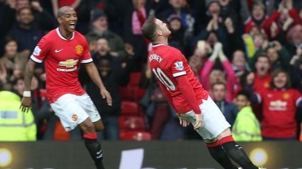 Rooney narca y cae noqueado