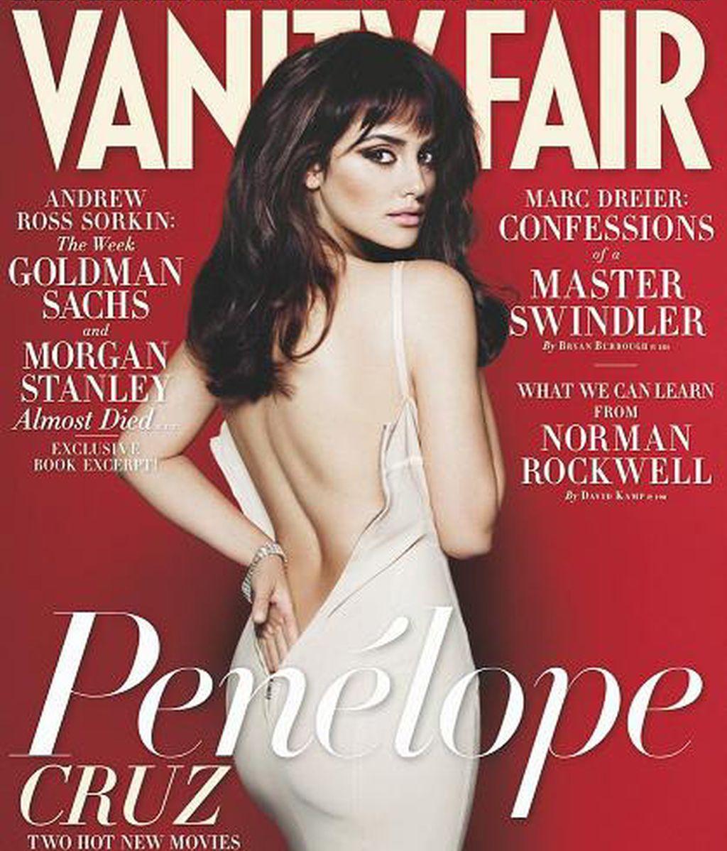 Penélope Cruz portada de Vanity Fair