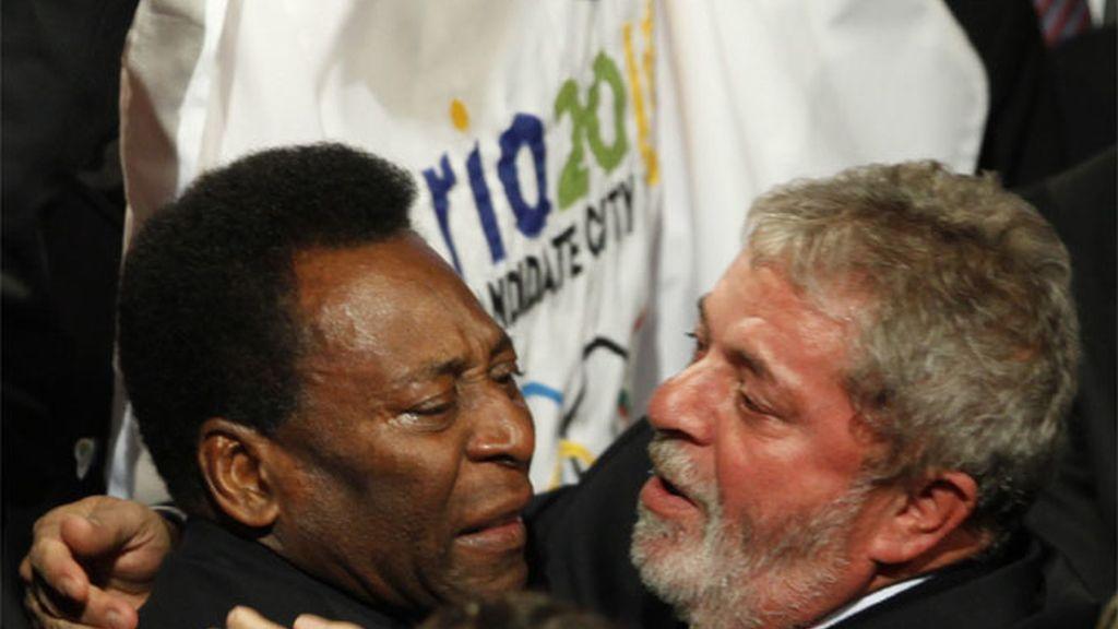 Lula da Silva y Pelé
