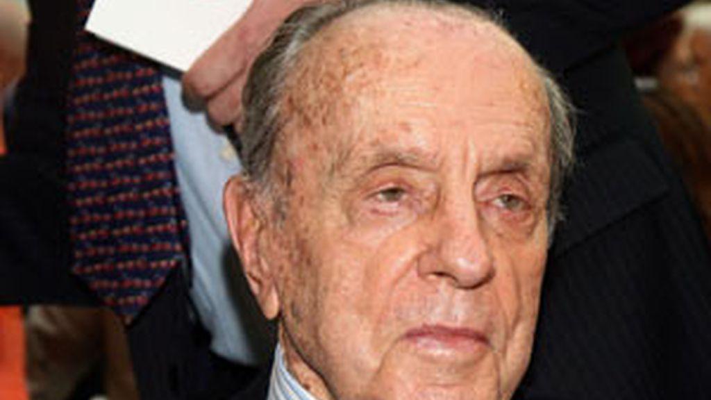 El expresidente de la Xunta y presidente fundador del PP, Manuel Fraga Foto: Gtres