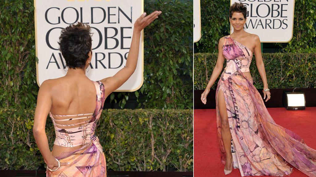 Halle Berry, que se marcó un 'Angelina',  tiene todas las papeletas para coronar la lista de peor vestidas