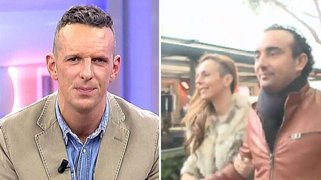 'Side shave' a lo spanish: el presentador Joaquín Prat y Rocío Carrasco