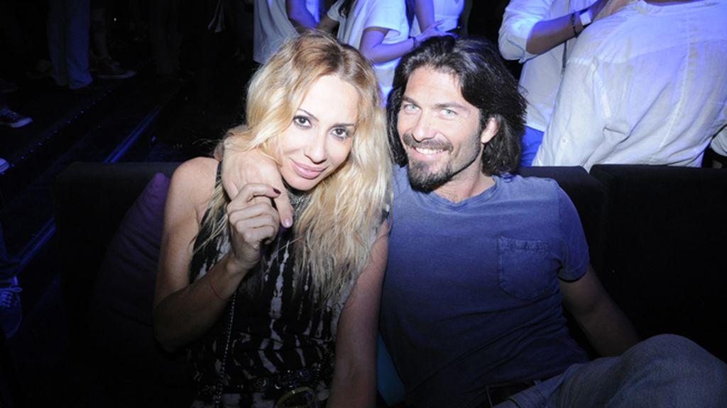 Marta Sánchez y su novio Daniel Terán