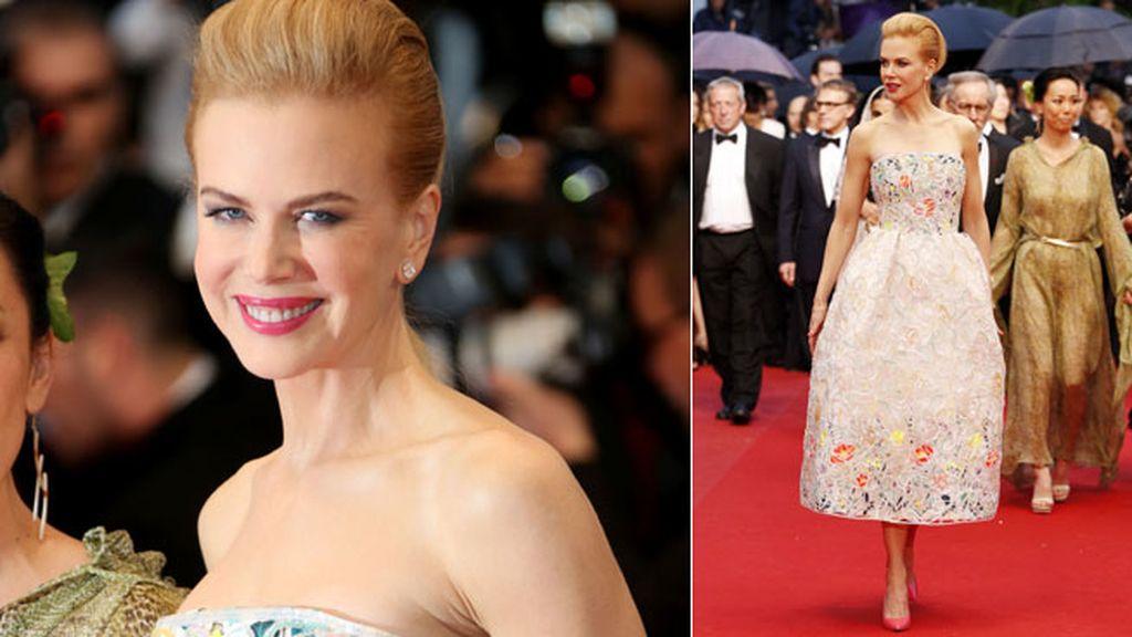 Nicole Kidman deslumbró con un diseño de Christian Dior