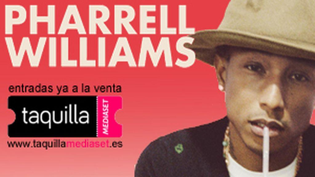 Energy la televisión oficial de la gira de Pharrell Williams en España