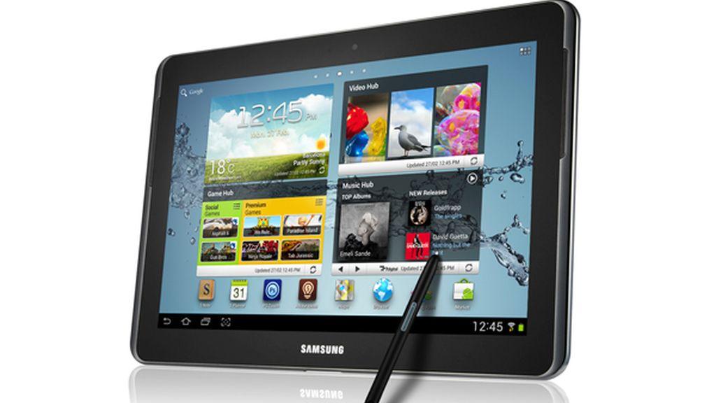 El Samsung Galaxy Note 10.1 cuenta con un procesador de cuatro núcleos a 1,4 GHz y 2 GB de RAM.