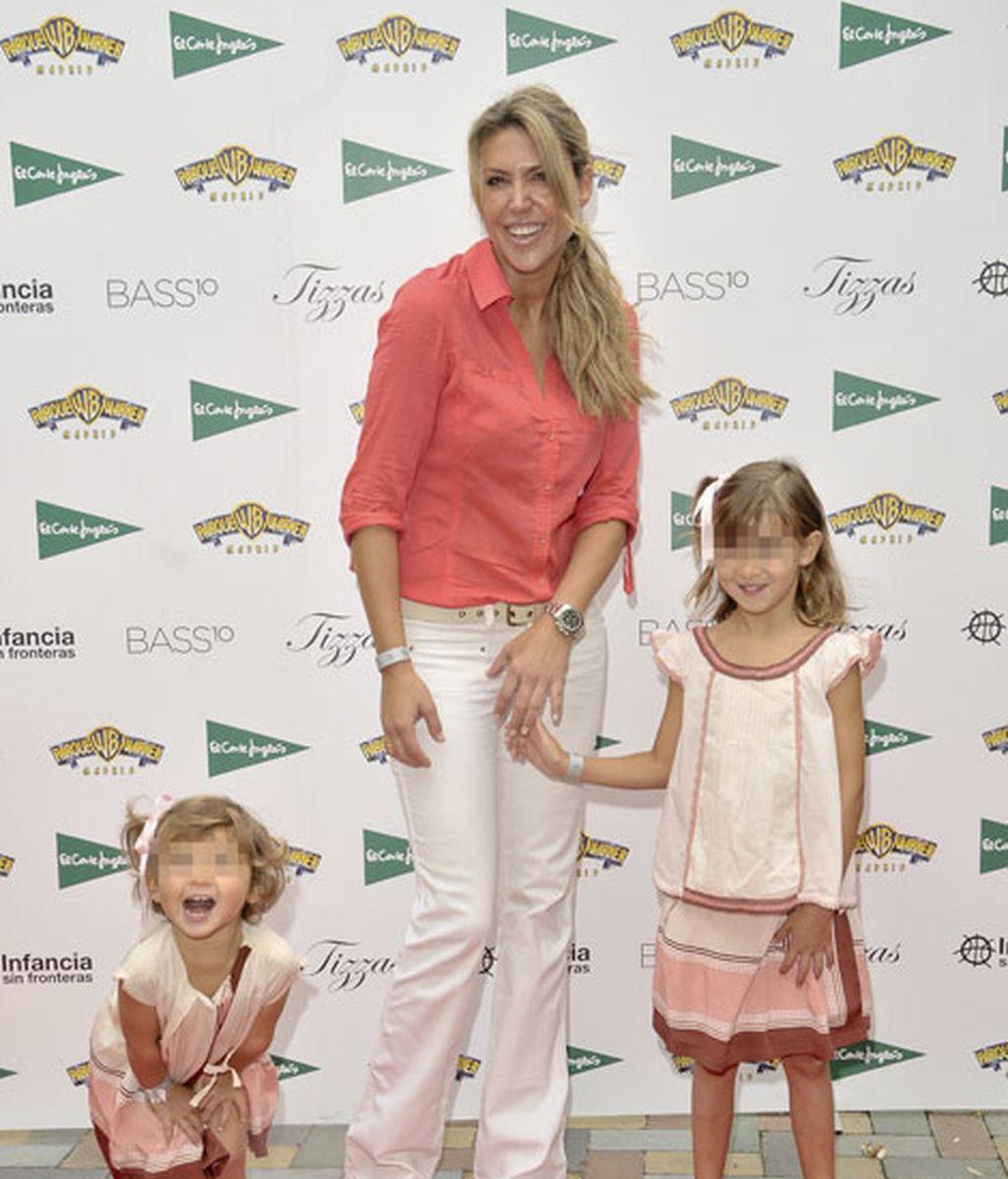 Patricia Olmedilla se hizo una divertida foto con sus hijas
