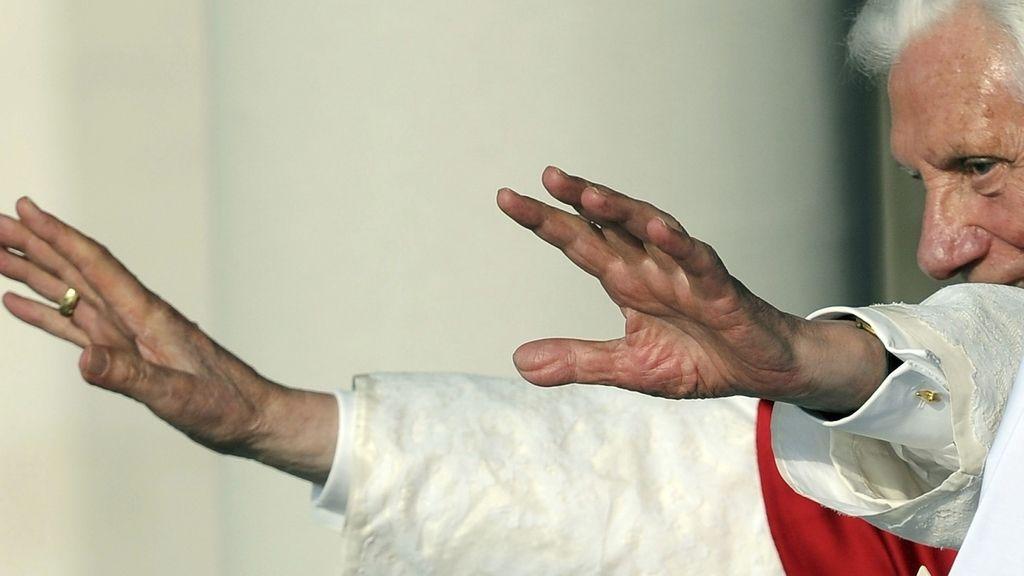 Benedicto XVI en la Jornada Mundial de la Juventud en Madrid. Foto: EFE