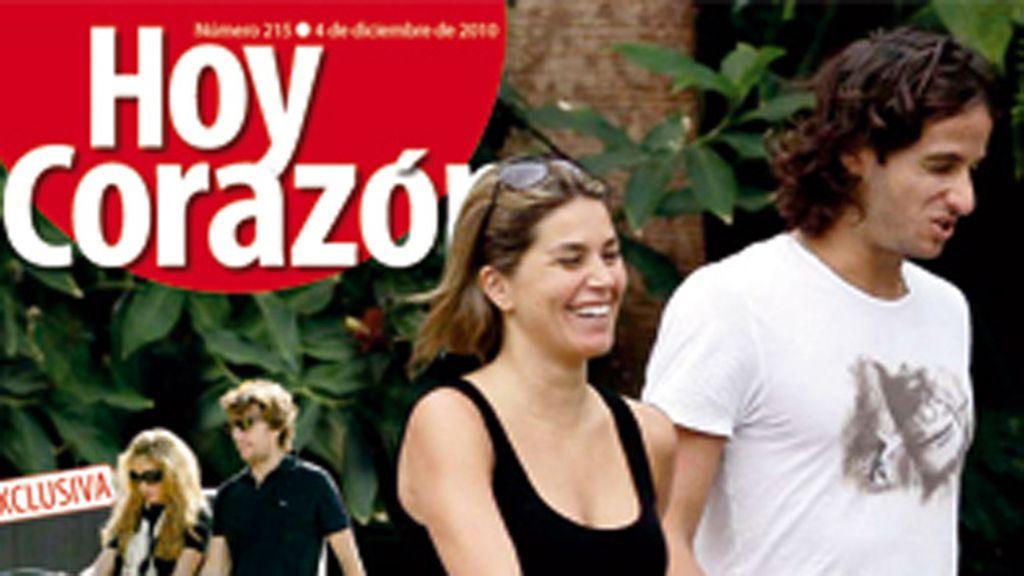 Nira Juanco, la 'Carbonero' de Feliciano López