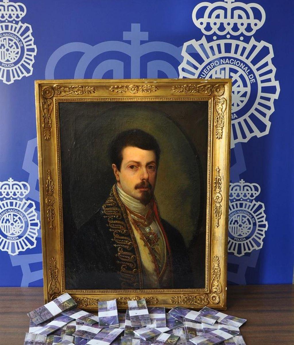 Estafados cuando intentaban vender un falso Goya a un jeque árabe por cuatro millones