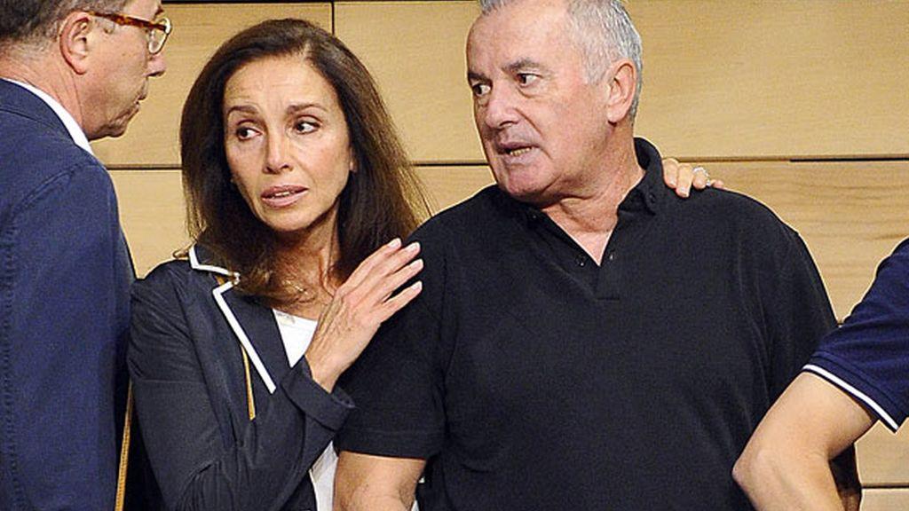 Ana Belén y Víctor Manuel, amigos personales de Santiago