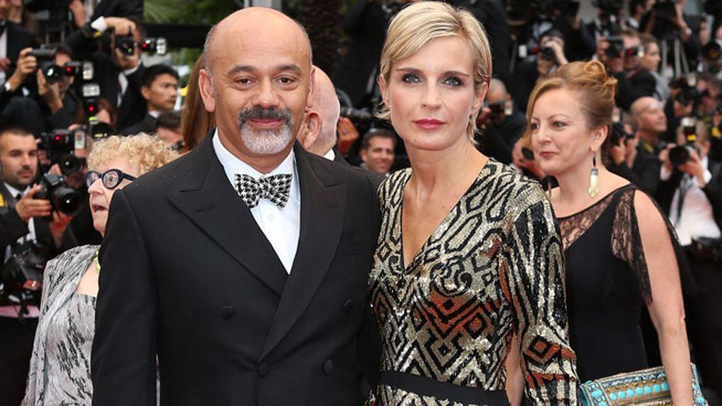 Christian Louboutin y Melita Toscan