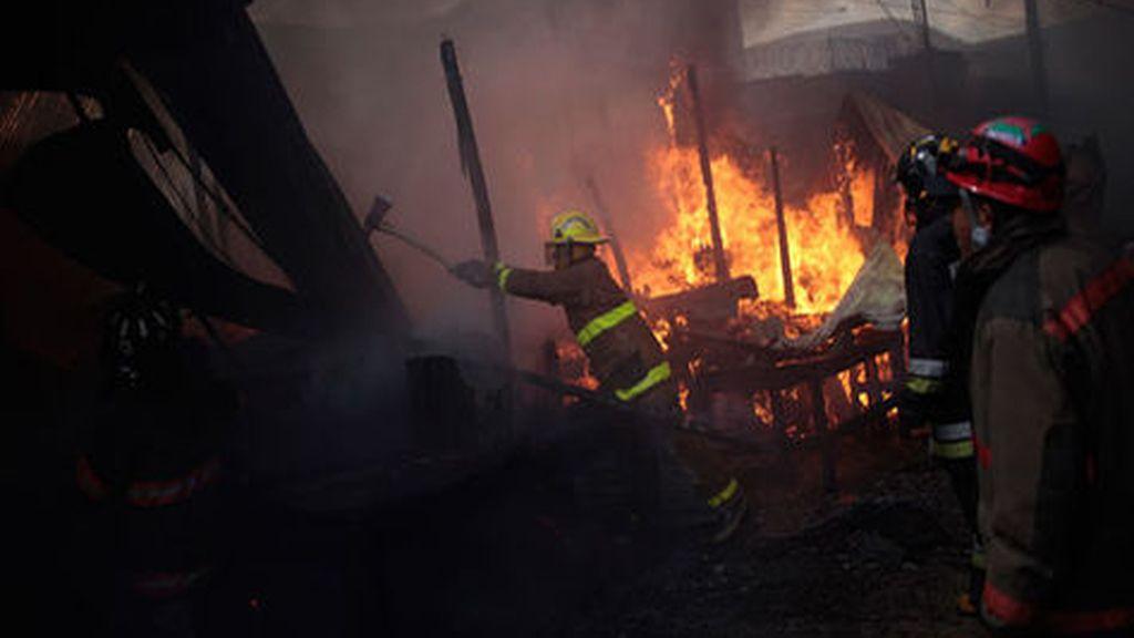 Incendio en Honduras