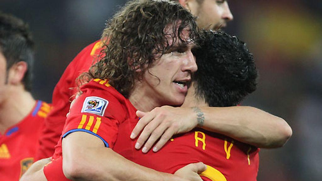 Carles Puyol seguirá, probablemente, en la selección. FOTO: Getty.