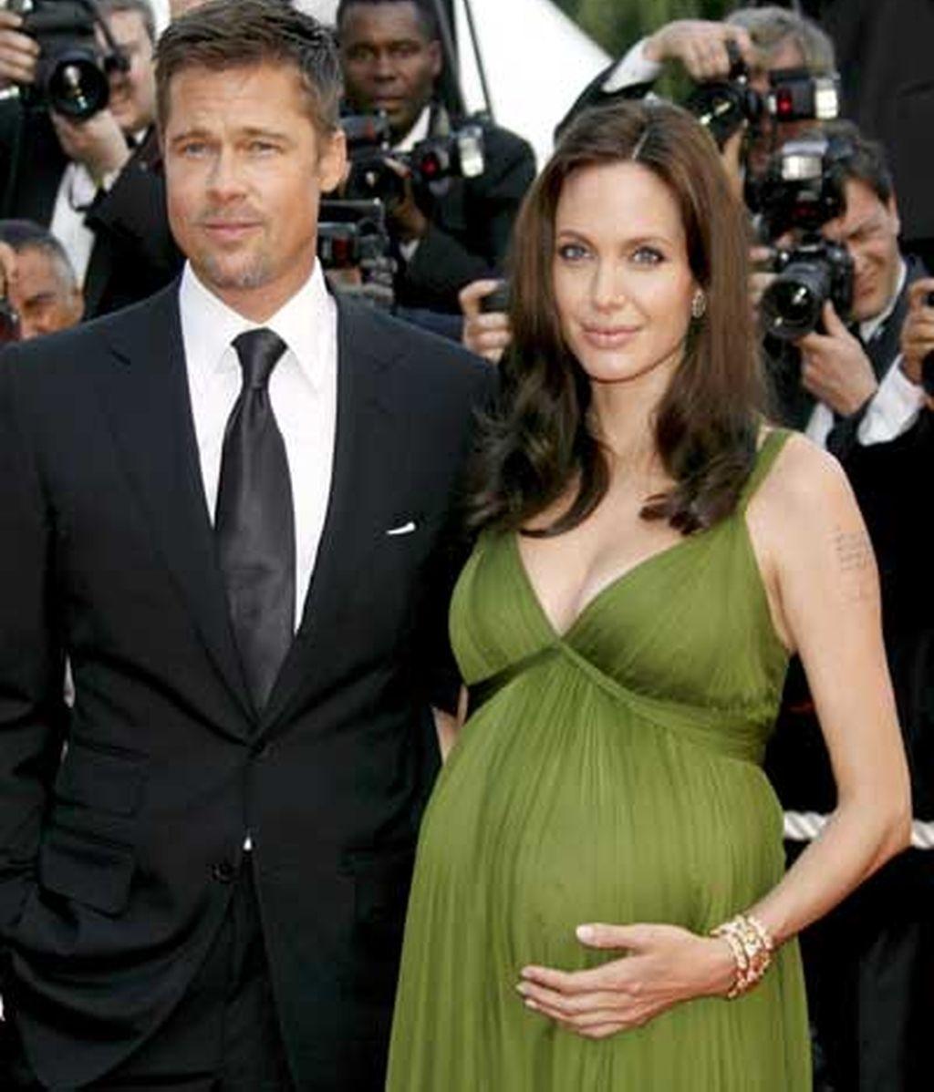 Angalina y Brad en Cannes