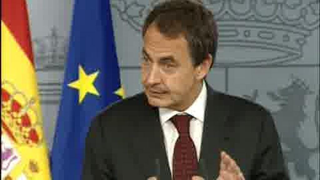 """Zapatero presenta """" el Gobierno de la recuperación"""""""