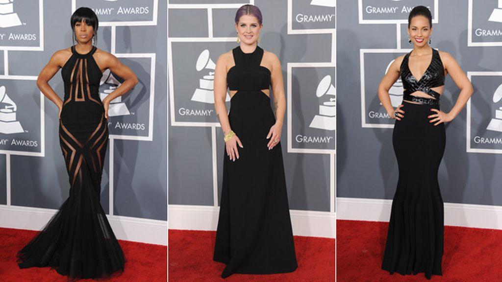 Kelly Rowland, Alicia Keys y Kelly Osbourne, clones en estilo