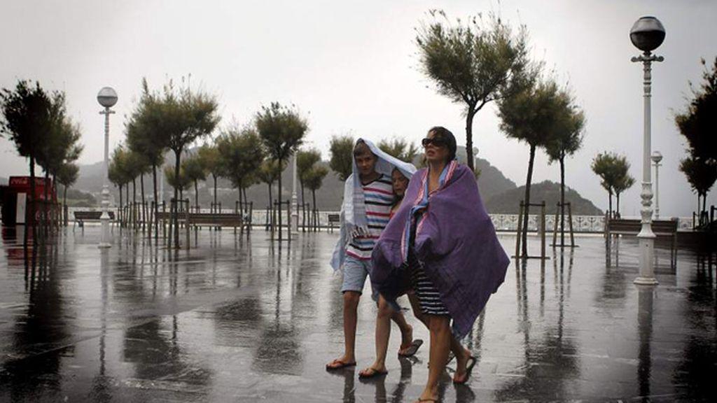 Foto de archivo, lluvias