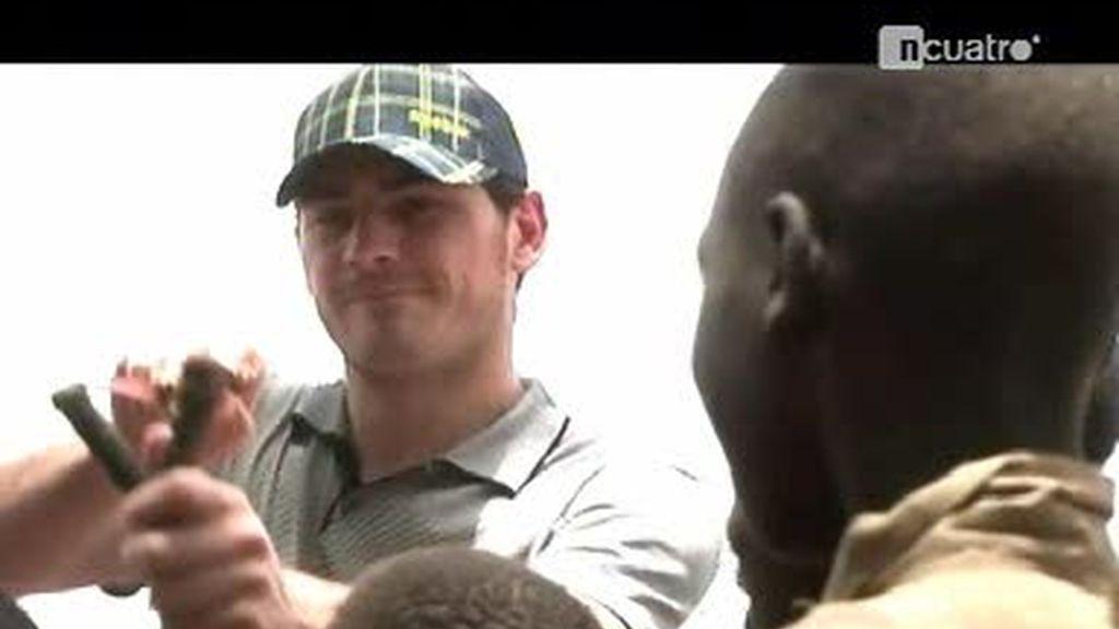 Iker Casillas, todo un crack también fuera de los campos